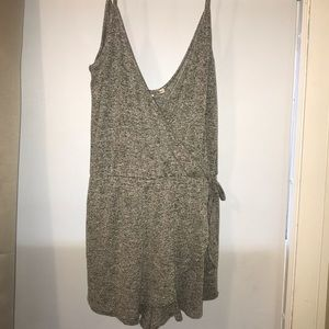Express one eleven collection Grey Romper